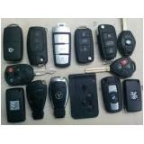 Chaveiro de chaves codificadas