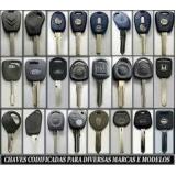 Quais os valores de Chave canivete codificada Jardim Telles de Menezes